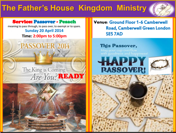 Passover 2014 @ London | United Kingdom